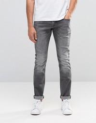 Серые джинсы скинни Esprit - Серый