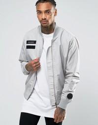 Куртка-пилот Cheats & Thieves MA1 - Серый
