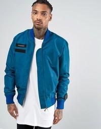 Куртка-пилот Cheats & Thieves MA1 - Синий