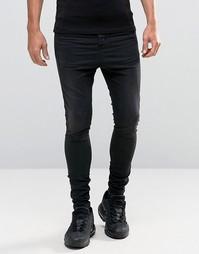 Гаремные джинсы Illusive London - Черный