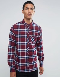 Рубашка в клетку Threadbare - Красный