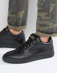 Кроссовки на шнуровке Criminal Damage Detroit - Черный