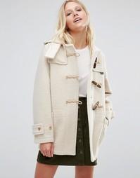 Белое пальто Gloverall Monty - Белый