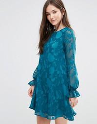 Платье-туника в стиле 70‑х Darling Cerys - Зеленый