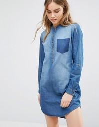 Джинсовое платье J.D.Y Move - Синий JDY