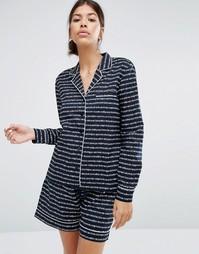 Пижама с принтом Pieces Wonder - Синий