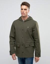 Зеленое пальто‑дождевик с 2 карманами Lyle & Scott - Зеленый