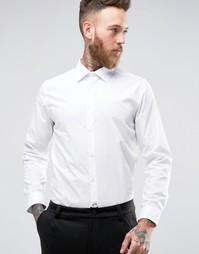 Белая рубашка слим Burton Menswear - Белый