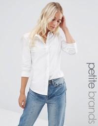 Классическая рубашка Vero Moda Petite - Белый
