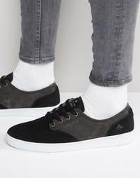Кроссовки на шнуровке Emerica Romero - Черный