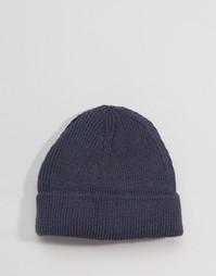 Серая шапка-бини 7X - Серый
