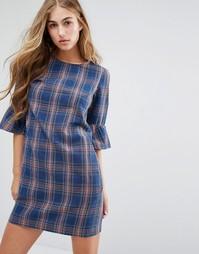 Платье в клетку Miss Selfridge - Мульти