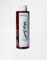 Шампунь для сухих/поврежденных волос Миндаль и лен Korres 250 мл - Бесцветный
