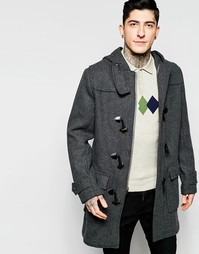 Шерстяное пальто Original Penguin - Серый