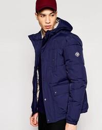 Пальто Puffa Caney Amsterdam - Темно-синий