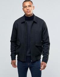 Полушерстяная куртка-пилот D-Struct - Серый