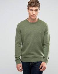 Джемпер из овечьей шерсти Farah - Зеленый