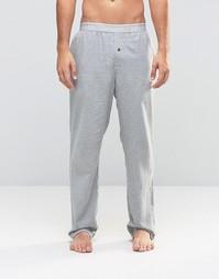 Тканые штаны для дома классического кроя Calvin Klein - Серый