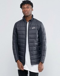 Черная стеганая куртка Nike 806859-010 - Черный