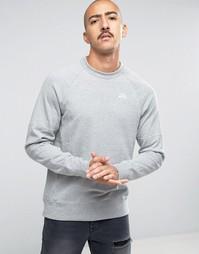 Серый свитшот с круглым вырезом Nike SB Everett 846884-063 - Серый