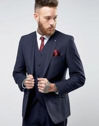 Шерстяной пиджак-премиум Feraud Heritage - Темно-синий