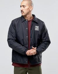 Спортивная куртка с подкладкой Borg от Carhartt WIP State - Черный