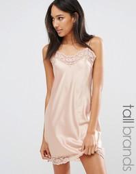 Платье-сорочка Y.A.S Tall - Фиолетовый