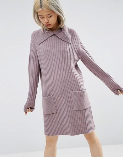 Платье-джемпер ASOS - Фиолетовый