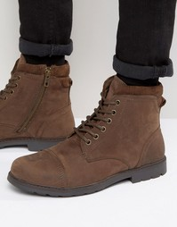 Ботинки на шнуровке Red Tape - Коричневый