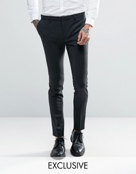 Супероблегающие брюки Heart & Dagger - Черный