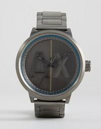 Наручные часы цвета пушечной бронзы Armani Exchange AX1362 - Серебряный