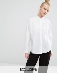 Эксклюзивная рубашка Monki - Белый
