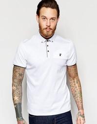 Трикотажная футболка-поло Ted Baker - Белый