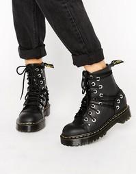 Ботинки с люверсами Dr Martens Daria - Черный