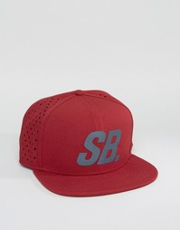 Кепка с отражающим логотипом Nike SB 804567-677 - Красный