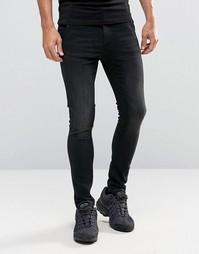 Зауженные джинсы Illusive London - Черный