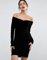 Платье мини Bec & Bridge Midnight Sage - Черный