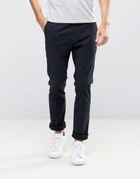 Темно-синие брюки слим Paul Smith - Темно-синий