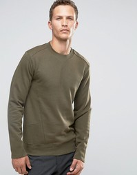Свитшот с асимметричными карманами Celio - Зеленый