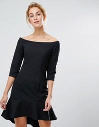 Платье мини с открытыми плечами Coast Terezita - Черный