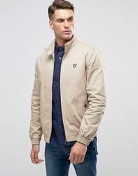 Куртка Харрингтон с логотипом в виде орла Lyle & Scott - Бежевый