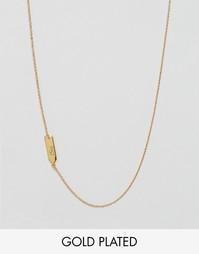 Астрологическое ожерелье со знаком весов Gorjana - Золотой