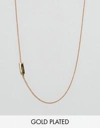 Ожерелье с подвеской Дева Gorjana - Золотой