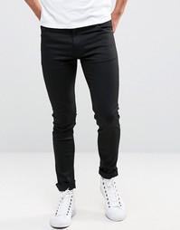 Черные супероблегающие джинсы Weekday Form - Черный