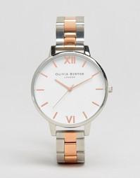 Часы из разных металлов Olivia Burton OB16BL32 - Серебряный