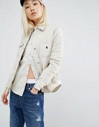 Куртка в стиле милитари Carhartt WIP Joann - Кремовый