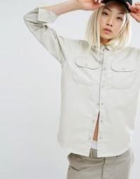 Саржевая рубашка в стиле милитари Carhartt WIP Co-Ord - Кремовый