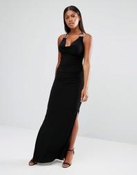 Платье макси с кольцами Jessica Wright - Черный