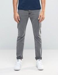 Серые облегающие джинсы из эластичного денима Only & Sons - Серый