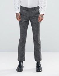 Строгие брюки скинни Rogues of London - Серый